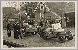 Het brandweer voertuig anno 1950