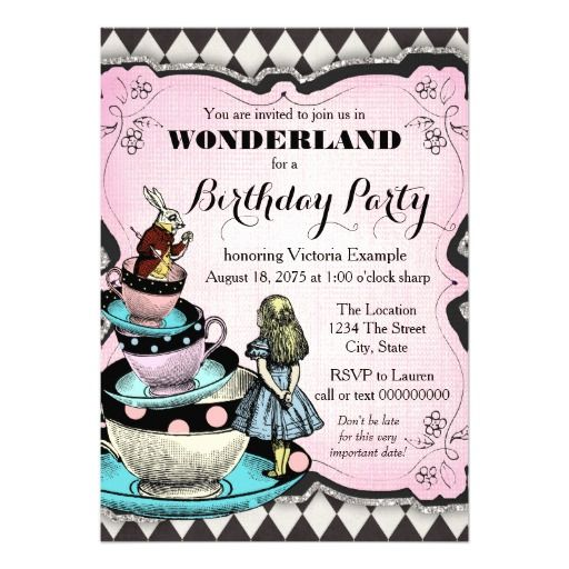 360 vintage birthday party invitations