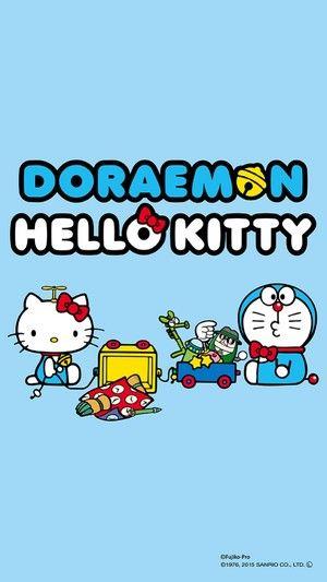 kitty和机器猫 来自阿77小七的图片分享 堆糖 hello kitty wallpaper kitty wallpaper kitty images