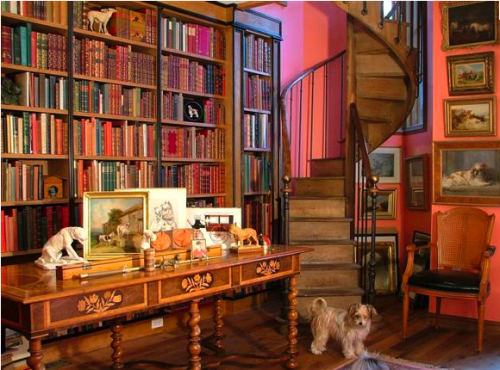 I want a personal library someday. Home Design Home Interior Design Home Library & I want a personal library someday.   La Casa   Pinterest   Home ...