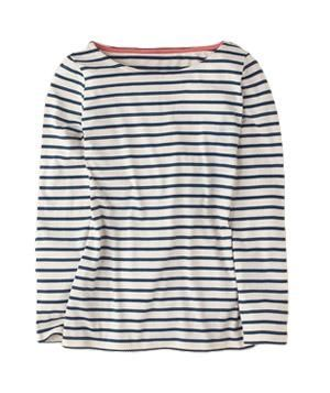 7e6af4cc Boden Stripy Breton | Virtually trend-proof, the versatile shirt—try it  with denim, florals, even sequins—has been around since the 19th century,  ...