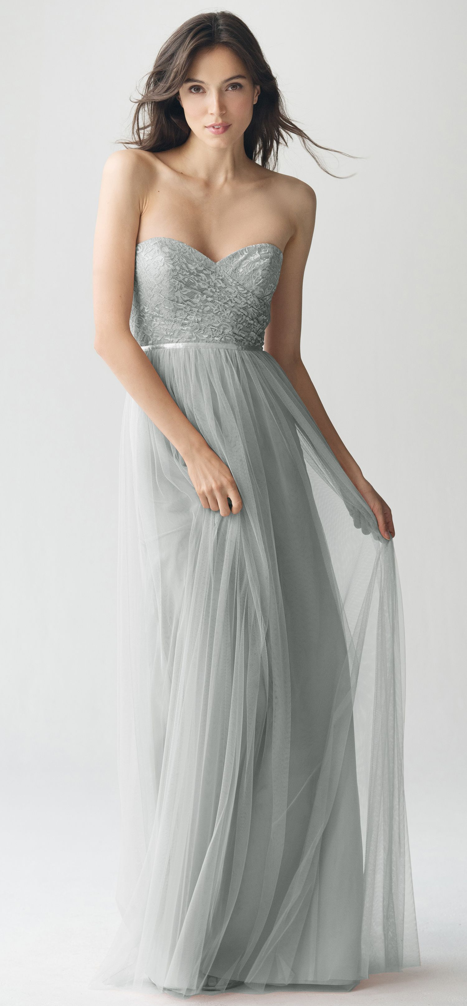 b07710d6d55 Talia Bridesmaid Dress in Morning Mist Lace + Soft Tulle by Jenny ...