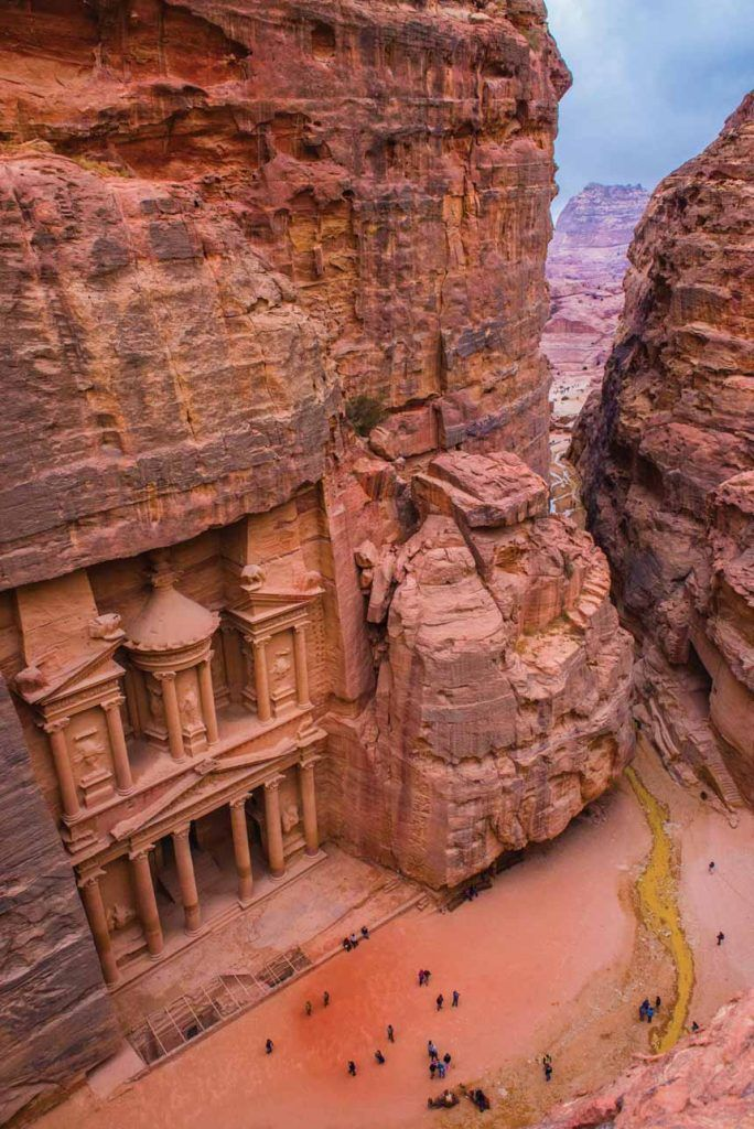 Adventure Jordan: Team Outpost Heads to the Small But Ancient Red-Rose Country #petrajordan
