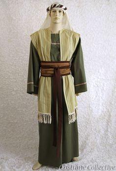 Boys JESUS FANCY DRESS COSTUME Joseph Shepherd Innkeeper Nativity Play Christmas