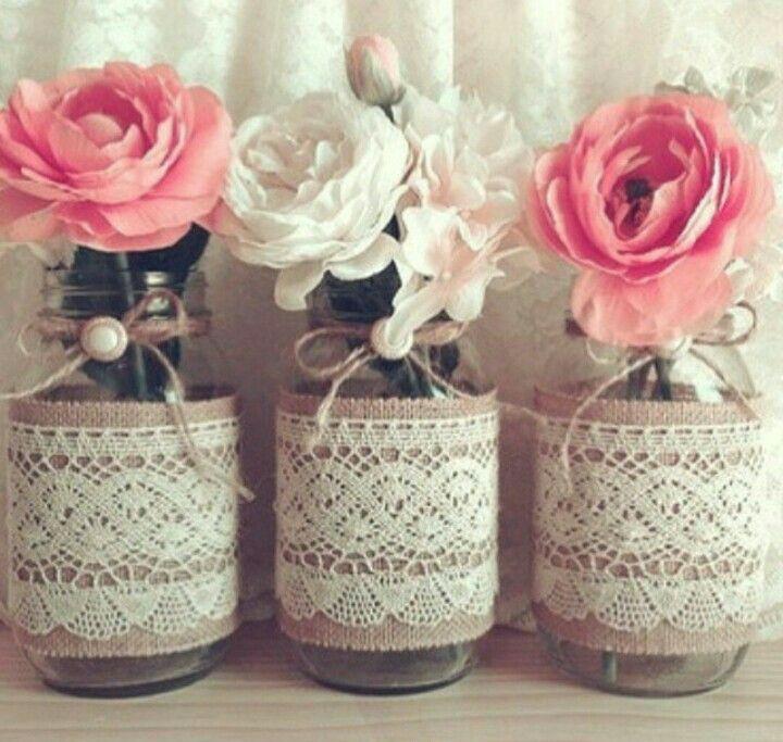 DIY Vasen  DIY  Hochzeit deko Hochzeit feiern und Dekoration hochzeit