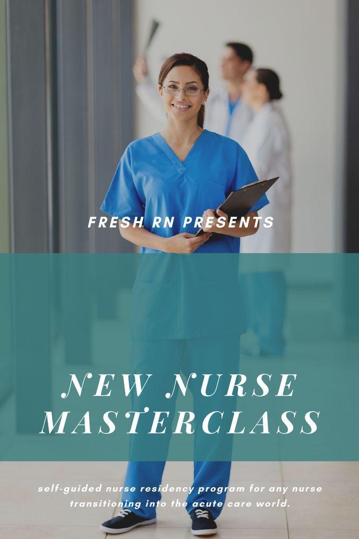 New Nurse Master Class in 2020 New nurse, Nurse, Nurse