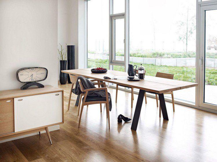 107 ides fantastiques pour une salle manger moderne - Chaise En Bois Salle A Manger