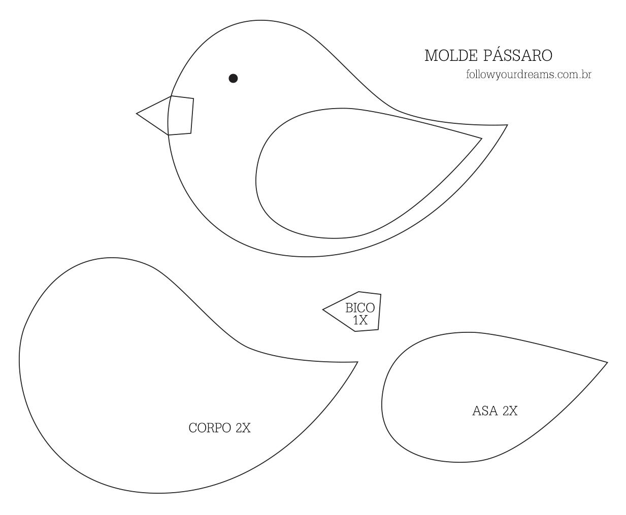 Pin von tamires batista auf Branca de neve | Pinterest | Filz vögel ...