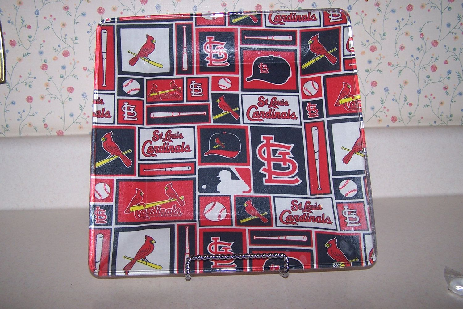 Baseball birthday st louis cardinals groomsman gift baseball