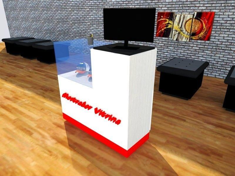 Mostrador vitrina de tienda de ropa tienda pinterest - Mostradores para negocio ...