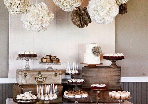 Mesa de dulces para fiestas: bar de postres autoservicio La mesa dulce es un momento muy esperado por todos los invitados. Llega en una pausa en el dancing, con muchas propuestas riquísimas. Hoy te invitamos a armar una mesa dulce autoservicio. ¿Qué opinás? Los detalles, abajo.  http://www.casamenteras.com/mesa-de-dulces-para-fiestas/