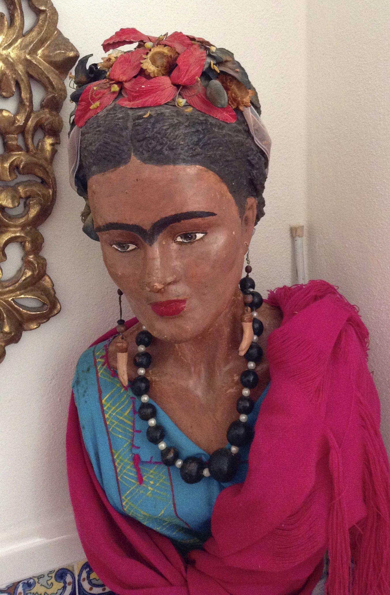 Esta Frida cuida mi casa