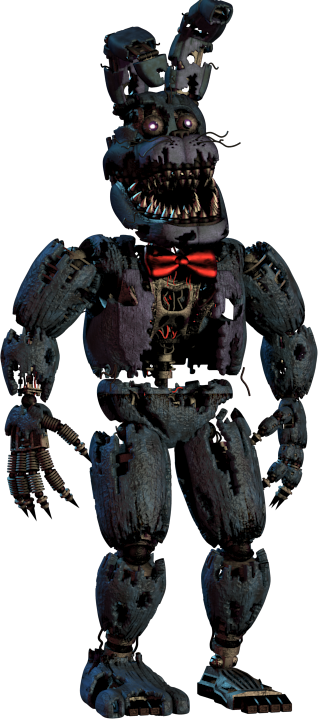 Nightmare Bonnie | Freezer paper | Fnaf, Five nights at