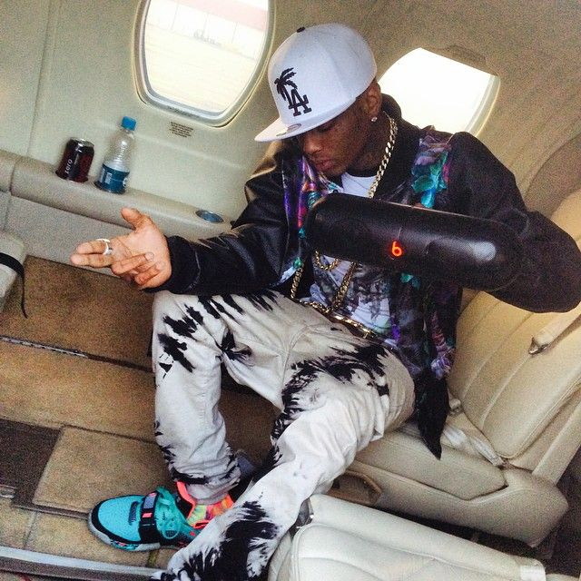 dffc672964 Soulja Boy wearing Nike Air Max Bo Jax South Beach   Fresh Sneakers ...