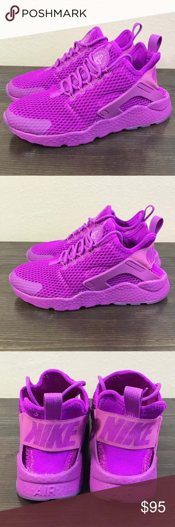 28905009c9099 Nike Air Huarache Run Ultra BR Violet Running Shoe Nike Air Huarache Ultra  BR Brand New without Box. Women s Size  5 The sides of the shoe show some  excess ...