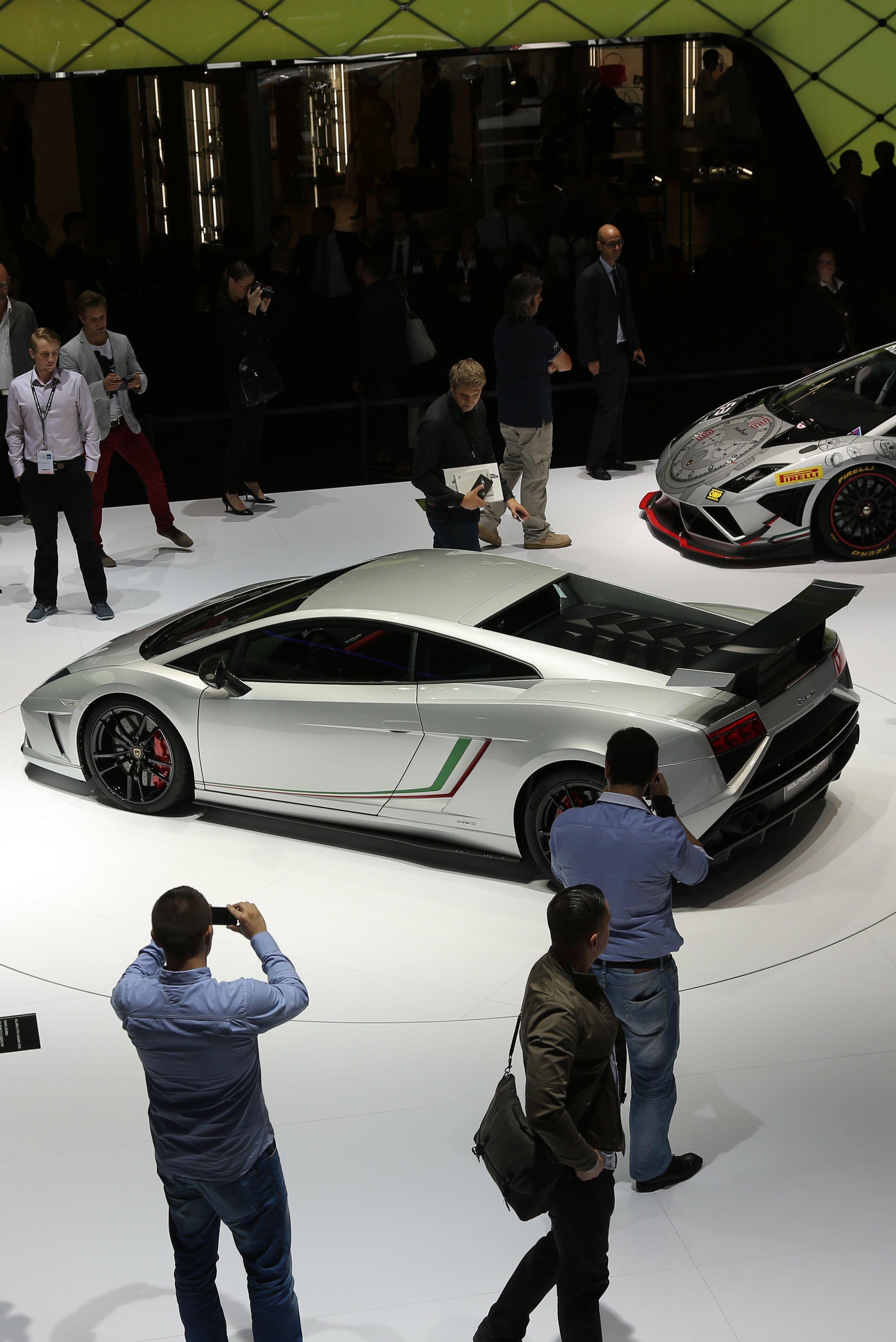 Lamborghini Gallardo 570 4 Squadra Corse At 2013 Frankfurt Motor Show. Best  Luxury Sports CarCar ...