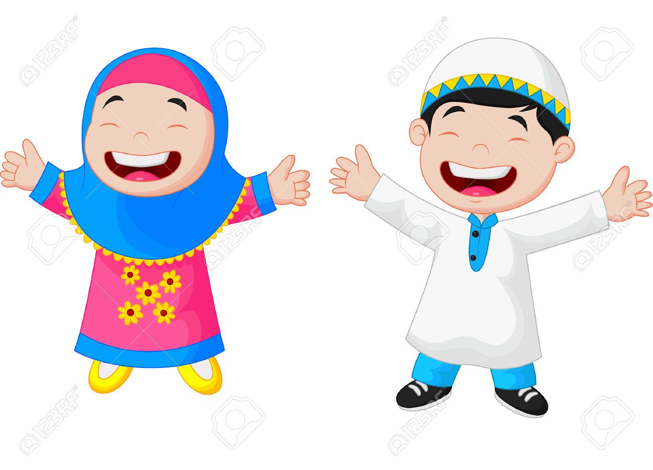 Muslim Child Vector Carian Google Muslim Clipart Pinterest