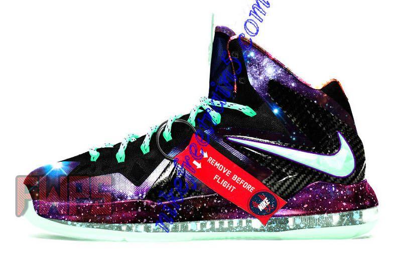 to buy 41838 bac2a Nike Lebron 10 Elite Galaxy