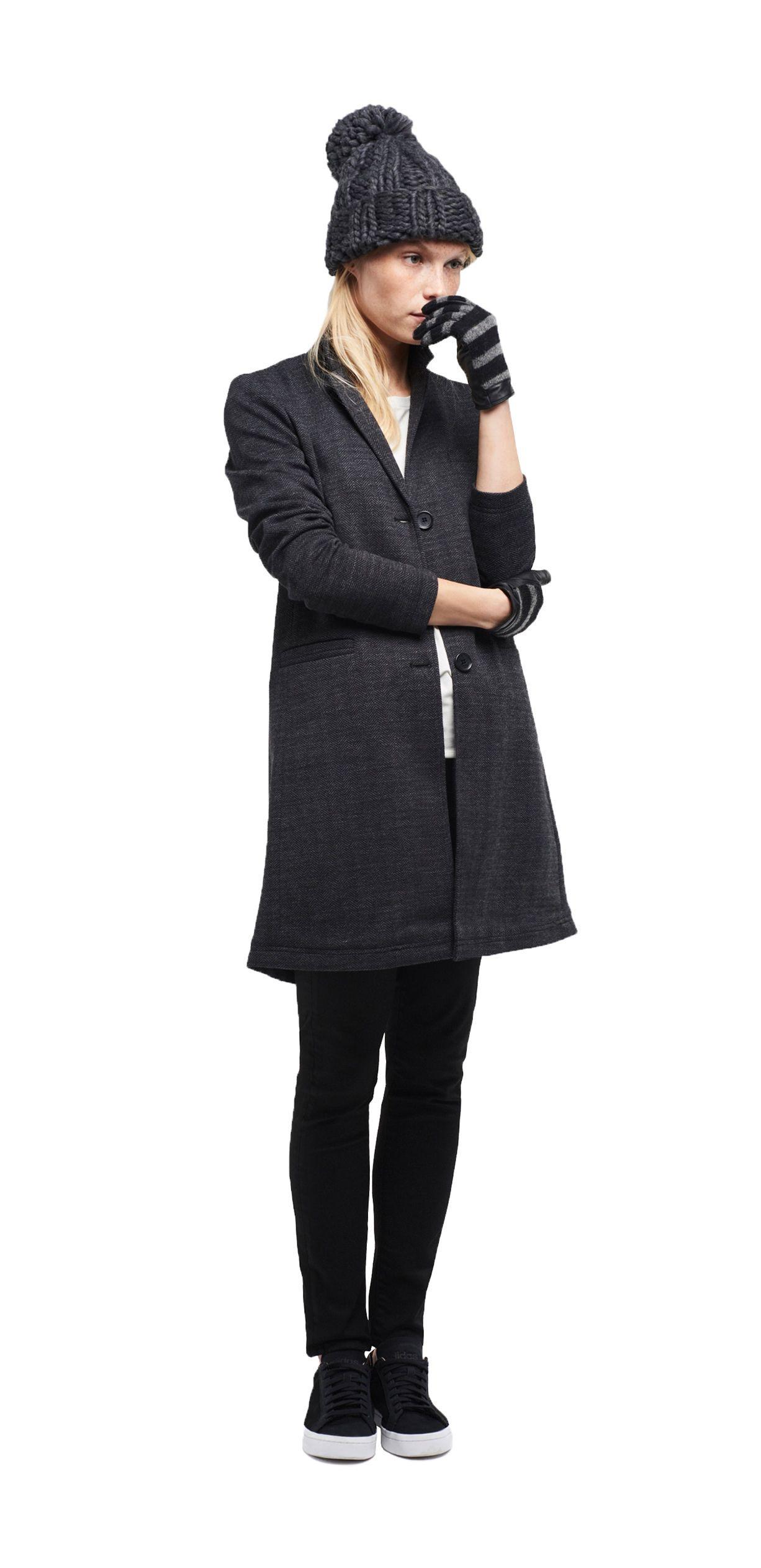 damen outfit dandy allure von opus fashion graue m tze graue handschuhe wei e let 39 s get. Black Bedroom Furniture Sets. Home Design Ideas