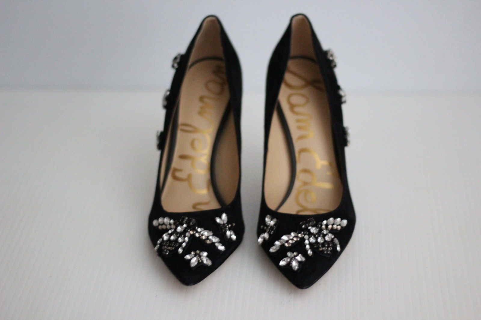 127.77     NEW Sam Edelman 'Hazel 3' Embellished Pointy Toe Pump ... a8b8b2