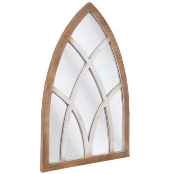 Rustic Cathedral Arch Wood Wall Mirror Hobby Lobby 1820562 Wood Wall Mirror Mirror Wall Mirror