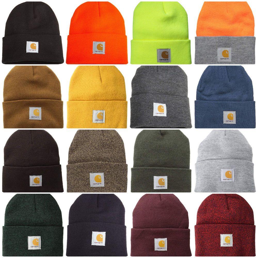 aa05f26dd3359 Carhartt Men s Beanie Knit Hat Warm Acrylic Watch Cap One Size Men s  Accessories  Carhartt  Beanie