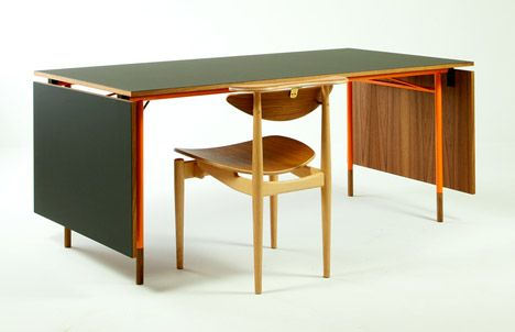 Nyhavn Dining Table Pictured With Reading Chair By Finn Juhl Furniture Pinterest Exhibitions