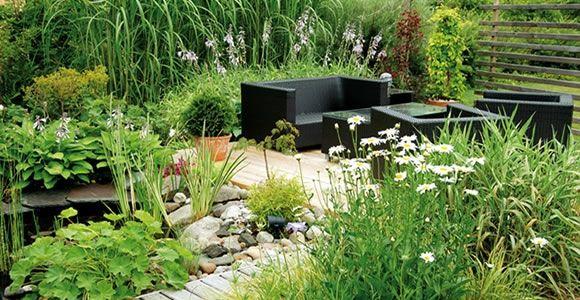 Umgestaltung im Garten u2013 unternehmen Sie gewagte Veränderungen - gartengestaltung mit steinen und pflanzen