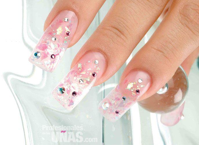 Diseño Uñas (nails): Detalles rosas Trabajo de: KOKORO con ENTITY ...