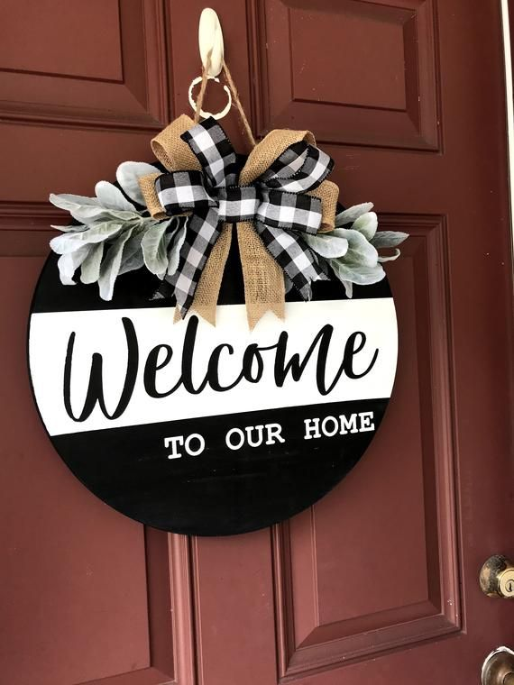 Welcome Sign Front Porch | Welcome Sign Front Door