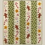 Deck the Halls Quilt by Bonnie Sullivan - All Through The Night