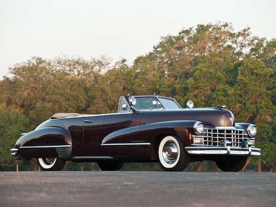 1947 Cadillac Series Sixty Two Convertible Antique Cars