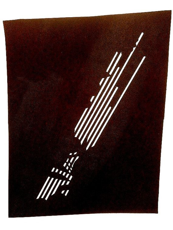 Vintage Japanese Stencil Lines A Stencil in by VintageFromJapan, $12.00 #shopping #etsy #craft