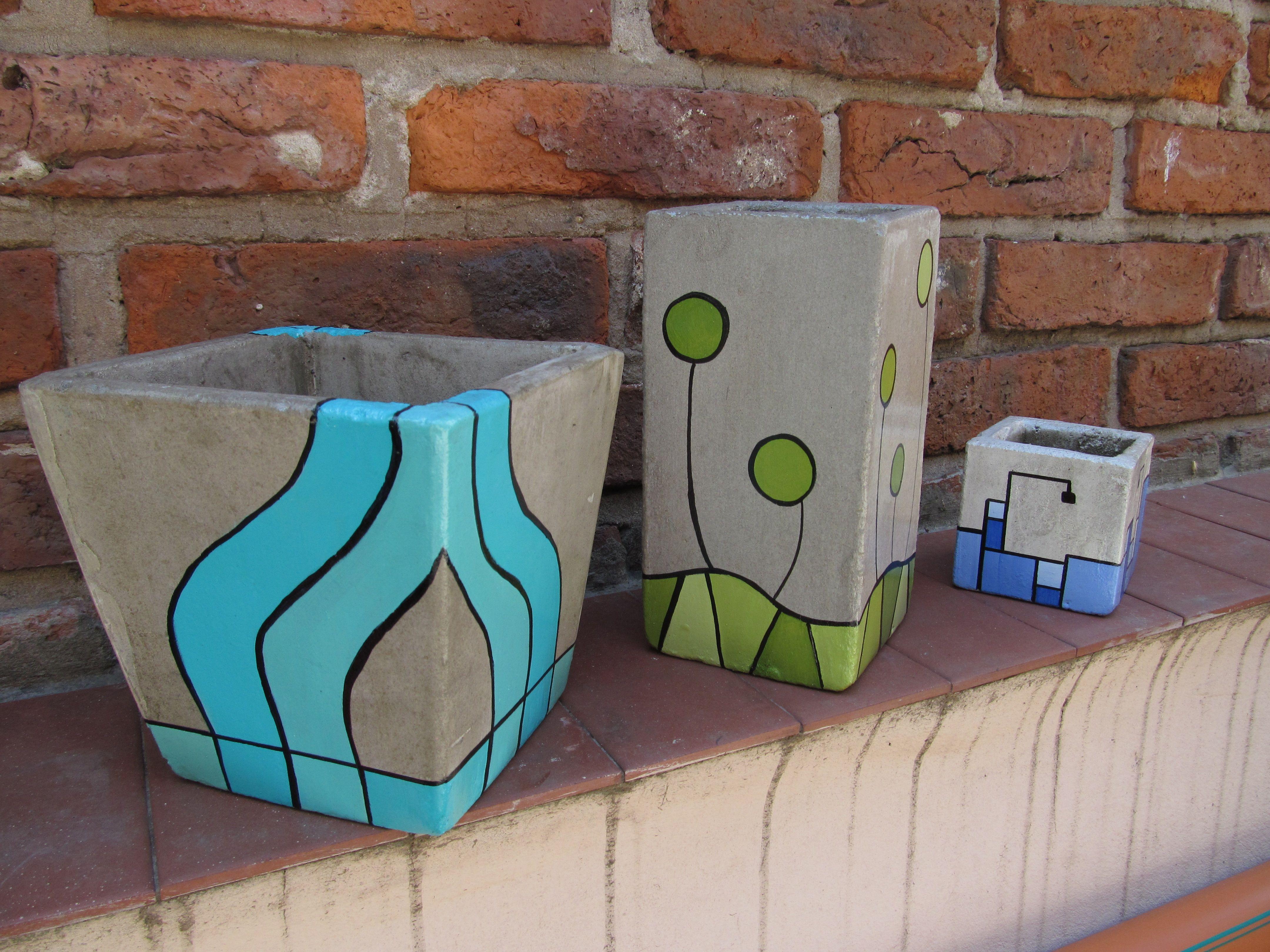 Como hacer cemento de colores buscar con google - Como pintar azulejos a mano ...