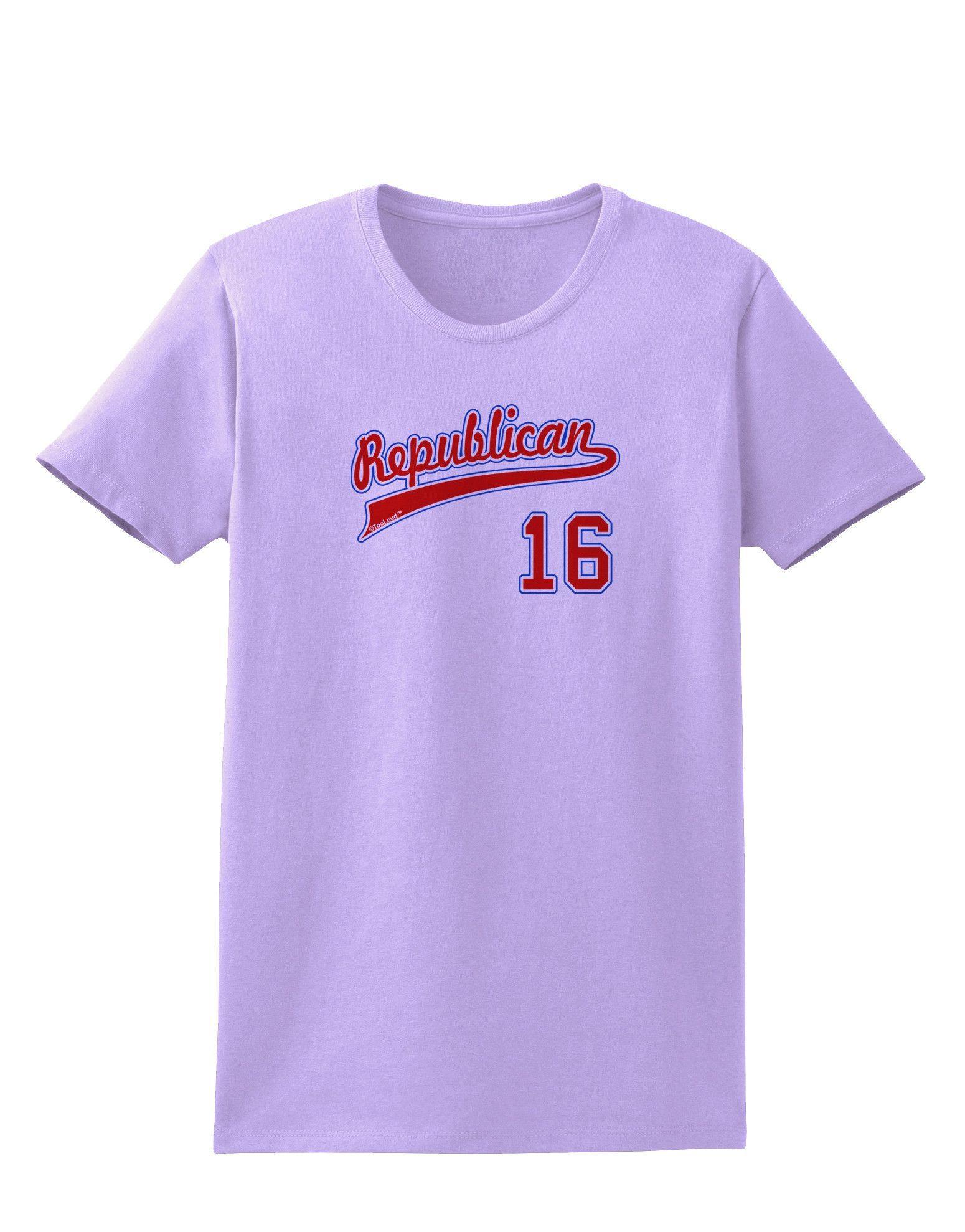 TooLoud Republican Jersey 16 Womens T-Shirt