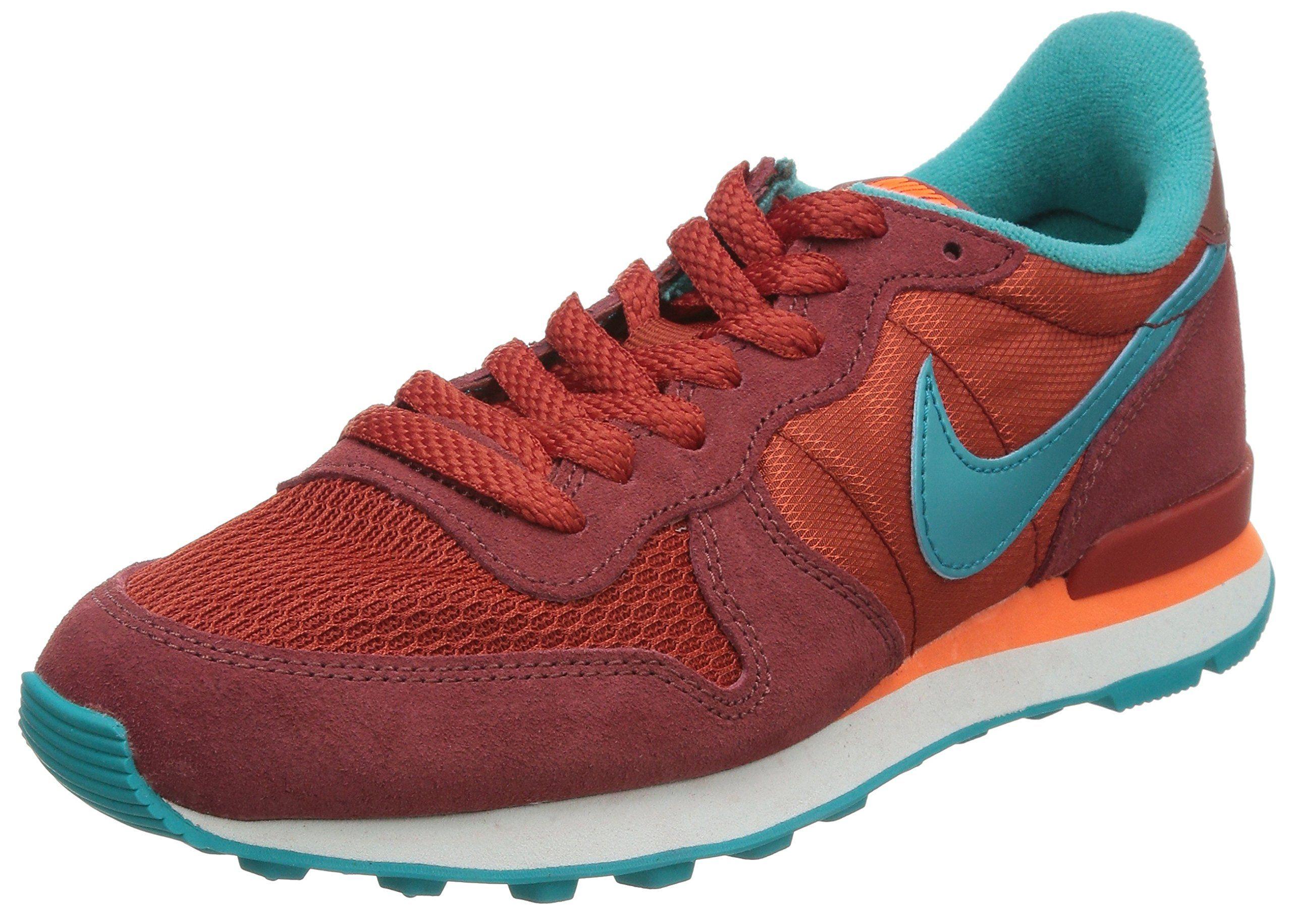 buy popular cf0a0 95250 Nike Women s Internationalist - Cedar   Cinnabar-Hyper Crimson-Dusty  Cactus, 6 B US