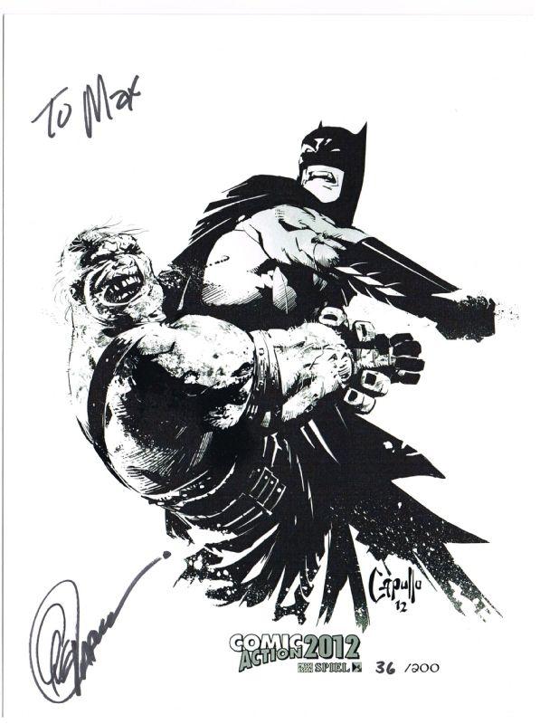Batman sketch | Greg Capullo