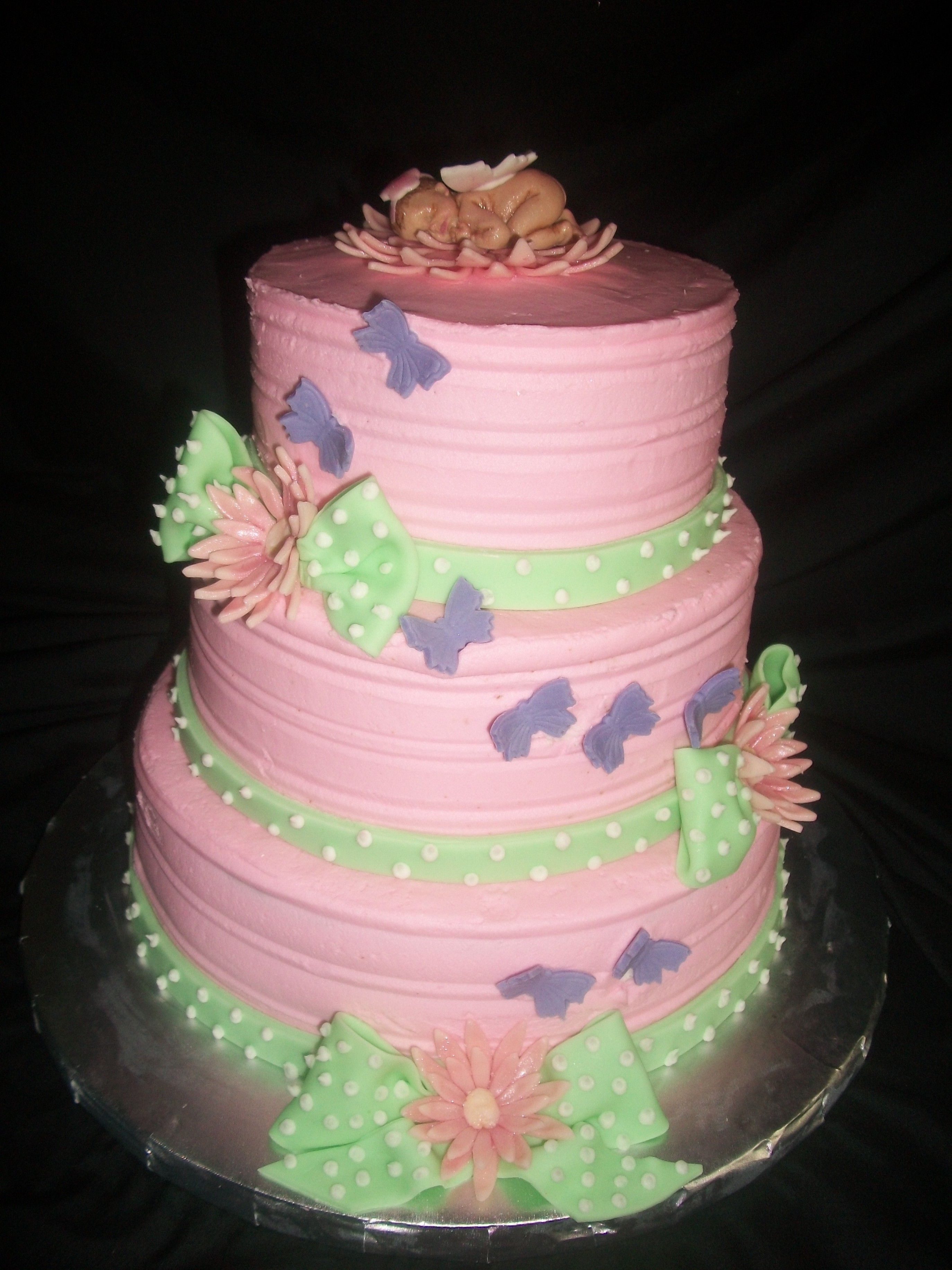 Butterfly Baby Shower Cake Decorating munity Cakes We Bake