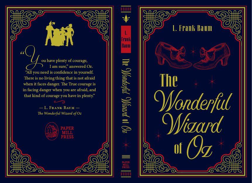 The Wonderful Wizard Of Oz Wizard Of Oz Book The Wonderful Wizard Of Oz Classic Books