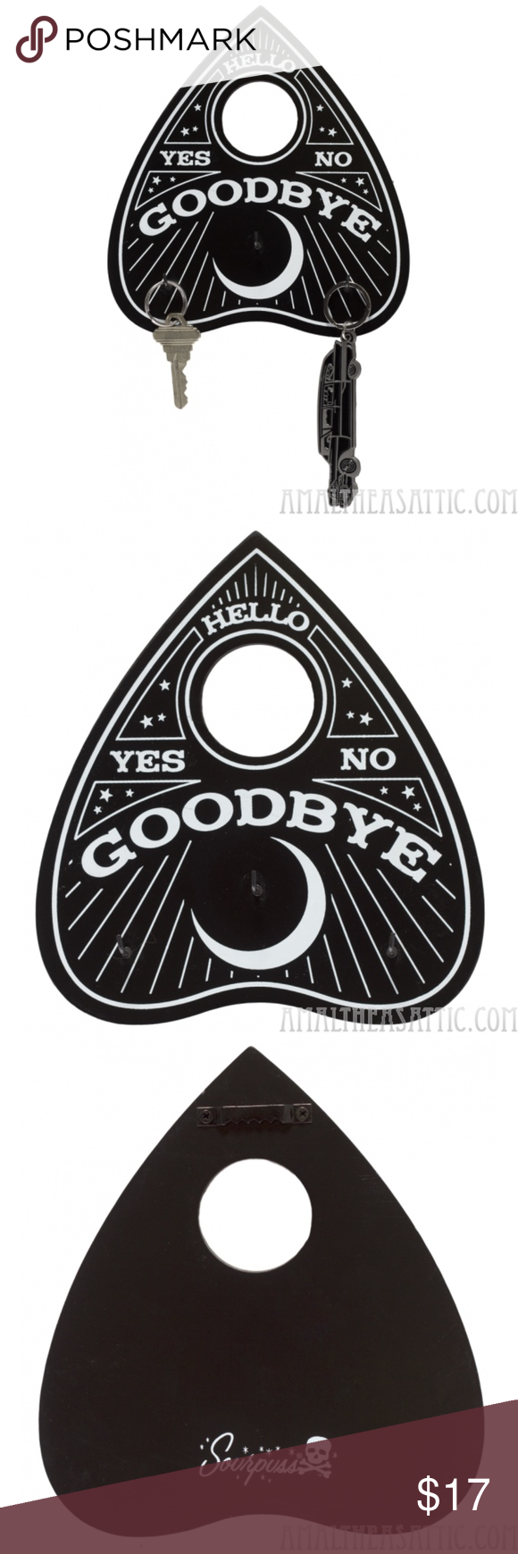 Ouija Board Planchette Key Holder Key Holder Planchette Things To Sell