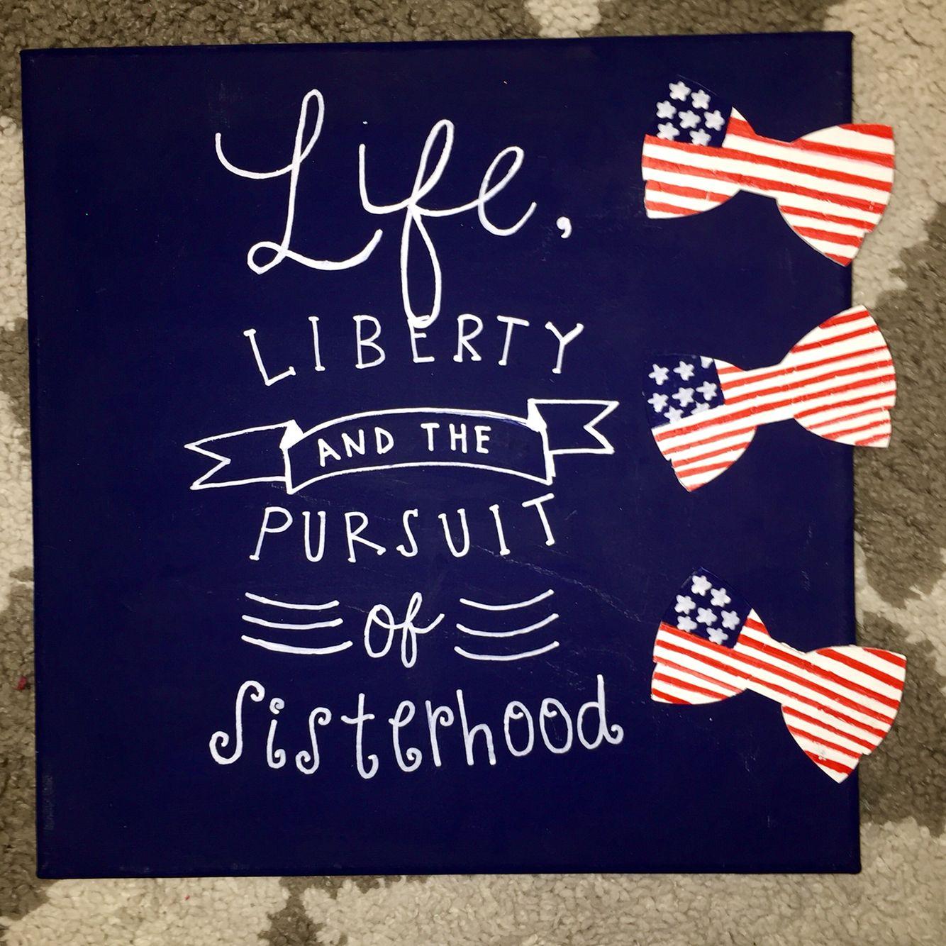 life liberty and the pursuit of sisterhood