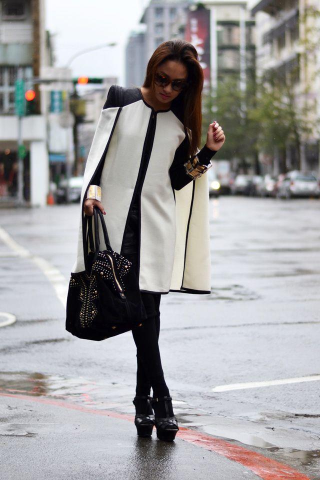 D sunnies, HK brand jacket, Luna Chic bangles, YSL bag, M leggings, Pedro heels