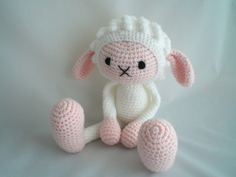 Amigurumi Voor Beginners : Crochet sheep amigurumi sheep crochet amigurumi soft toy