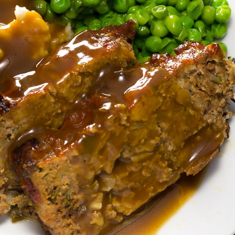 Meatloaf And Gravy Recipe Delicious Meatloaf Recipes Meatloaf With Gravy