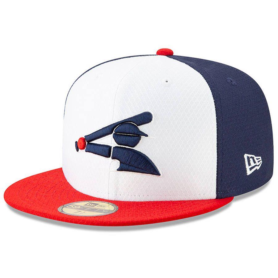 44bdfebd6b5 Men s Chicago White Sox New Era White Red 2019 Batting Practice Alternate  59FIFTY Fitted Hat