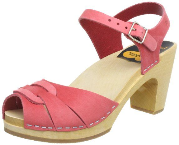 Amazon.com: Swedish Hasbeens Women's Peep Toe Super High Sandals: Shoes Clog sandals - the best of 2 worlds!