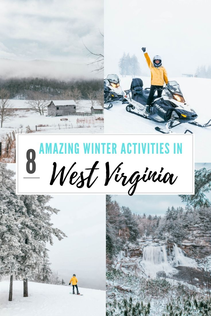 The 8 Best Winter Activities In West Virginia | The Lovely Escapist #westvirginia
