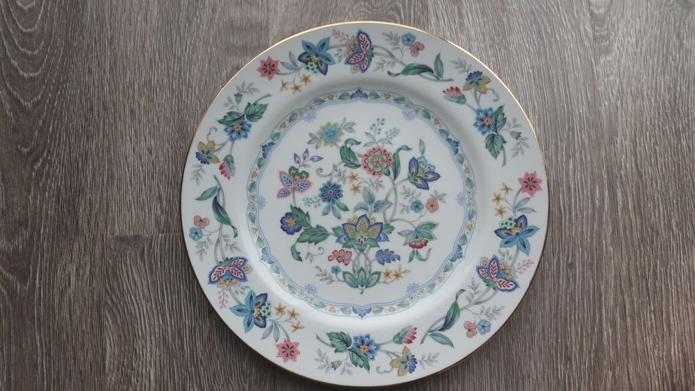 Andrea by sadek cake porcelain plate india garden