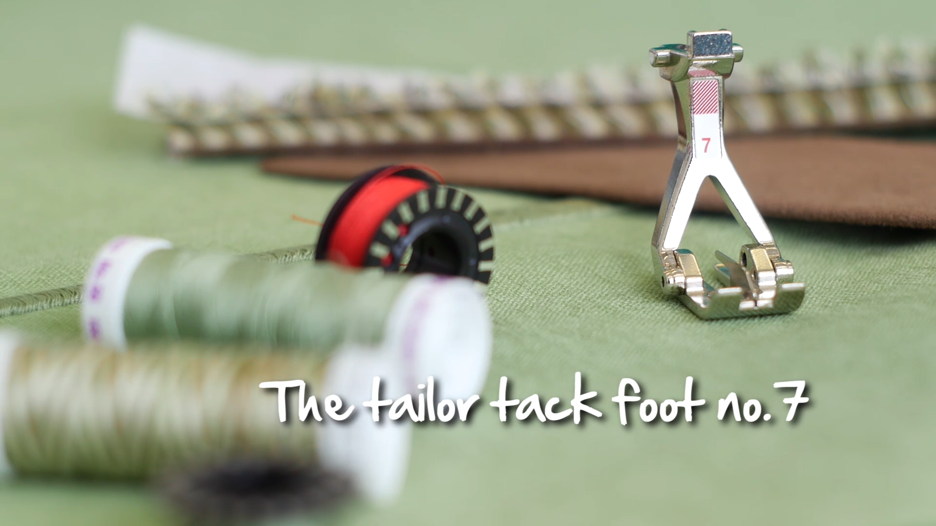 Photo of Tailor Tack Foot #7