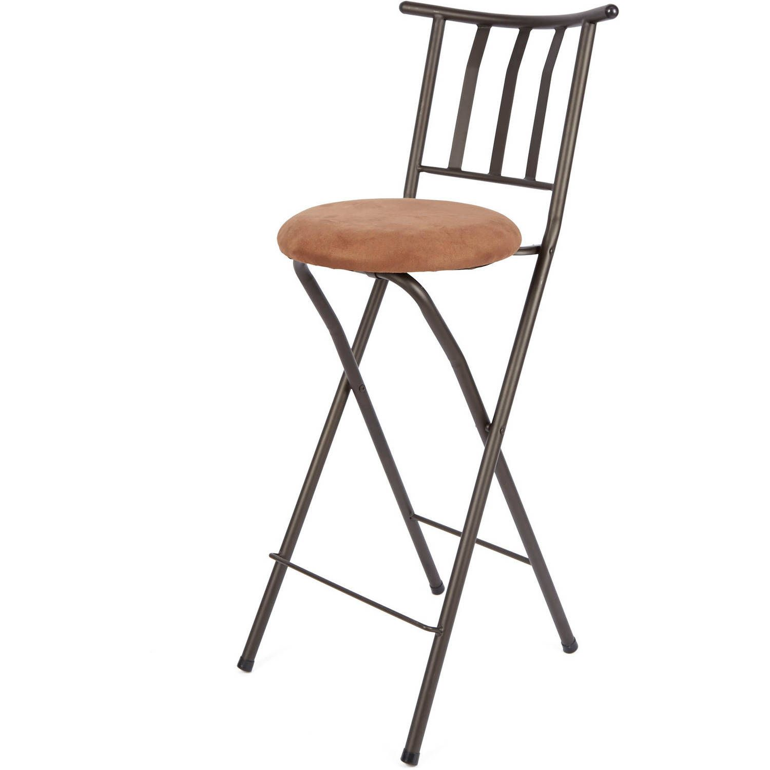 Inspirational Foldable Bar Stool with Backrest
